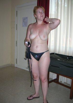 Подборка фото пожилых женщин которые не против показать рыхлую пизду - фото 5