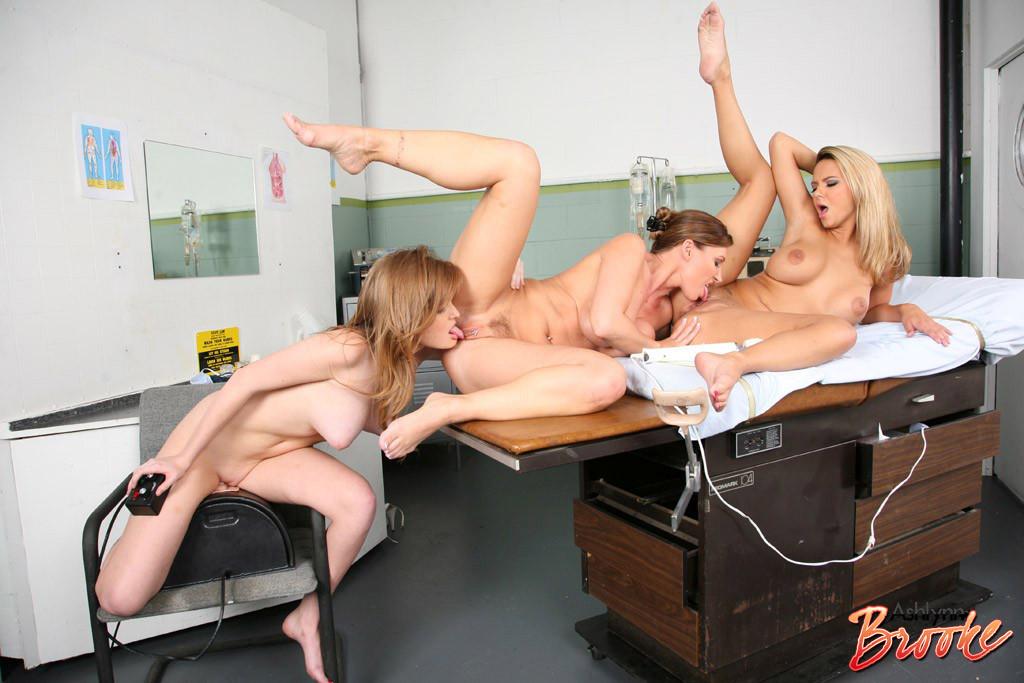Приключения блондинки в гинекологии