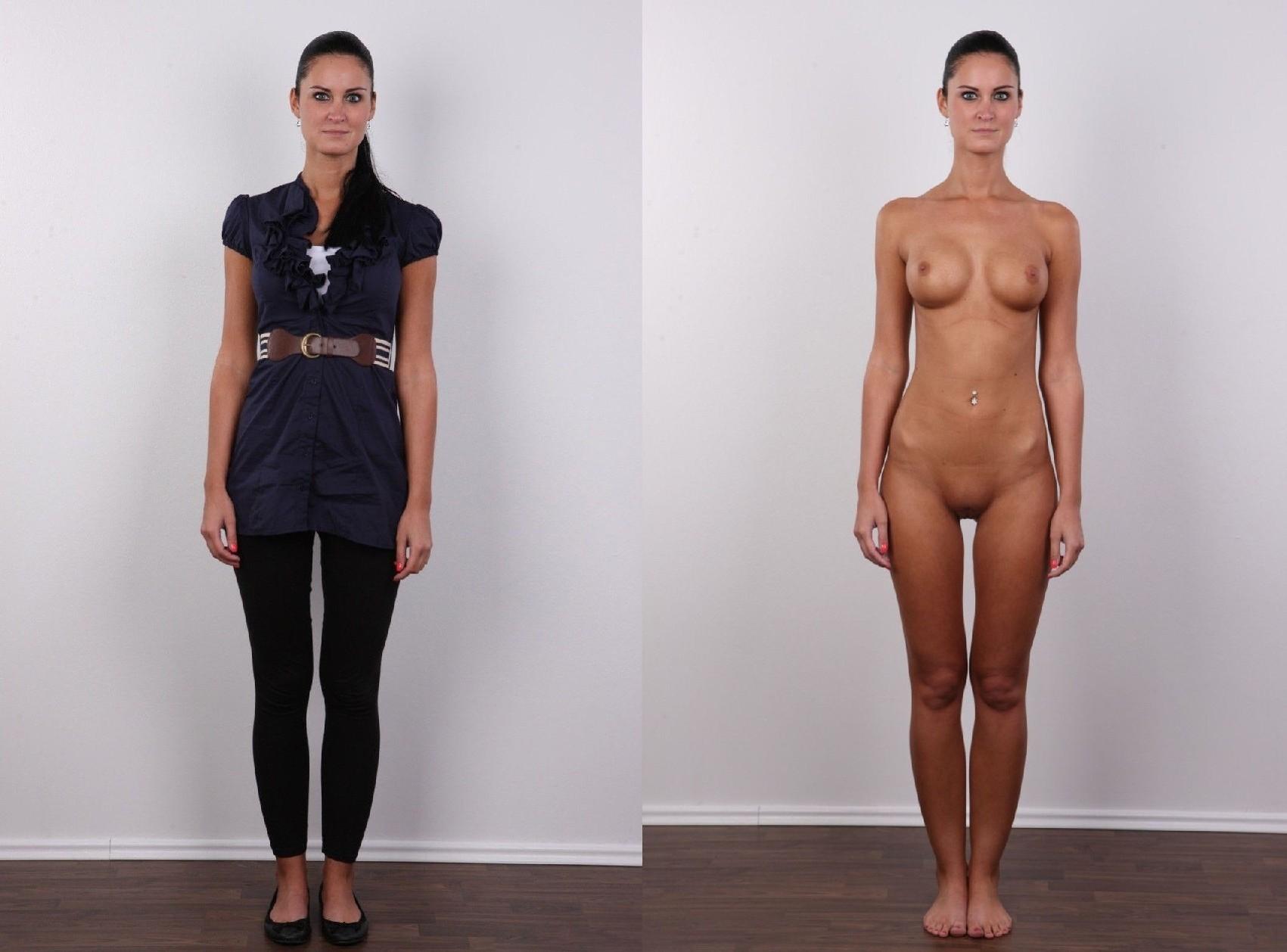 Фото одетых и без одежды, 70 фоток девок в одежде и без нее - Эротические фото 8 фотография