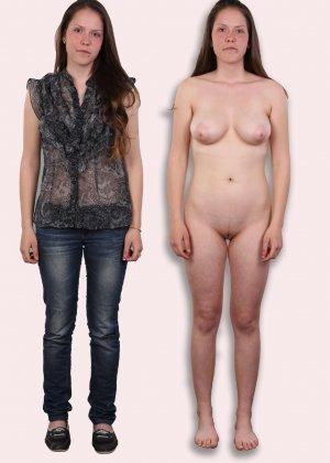 Фото сравнения одетых и раздетых женщин - фото 10- фото 10- фото 10