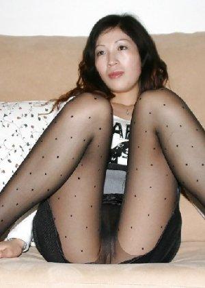Аматорская азиатская шлюшка с плоской задницей - фото 5