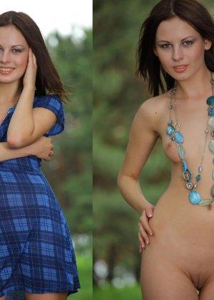 Фото сравнения одетых и раздетых женщин - фото 1- фото 1- фото 1