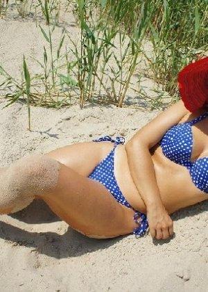 Симпатичная польская зрелая женщина, немножко шлюшка - фото 21