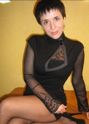 Симпатичная польская зрелая женщина, немножко шлюшка - фото 7