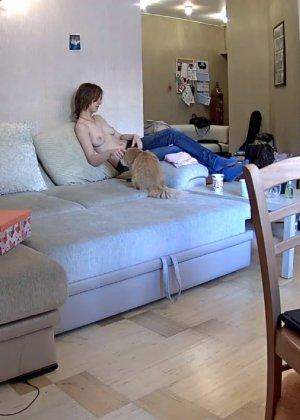 Скрытые камеры зафиксировали секс в неожиданных местах в квартире - фото 20