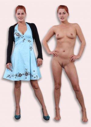 Фото сравнения одетых и раздетых женщин - фото 12- фото 12- фото 12