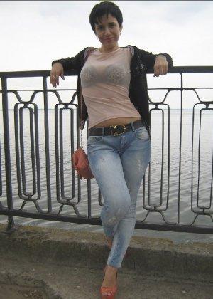 Симпатичная польская зрелая женщина, немножко шлюшка - фото 18