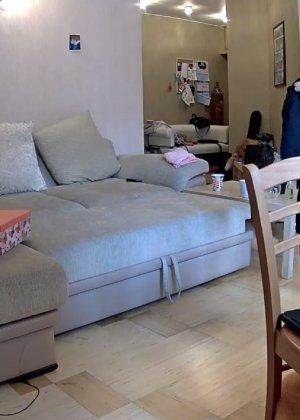 Скрытые камеры зафиксировали секс в неожиданных местах в квартире - фото 27