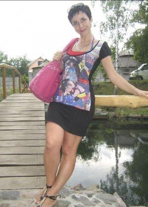 Симпатичная польская зрелая женщина, немножко шлюшка - фото 25