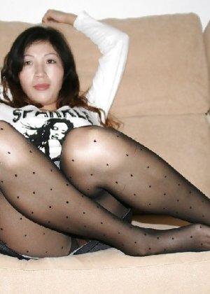 Аматорская азиатская шлюшка с плоской задницей - фото 3