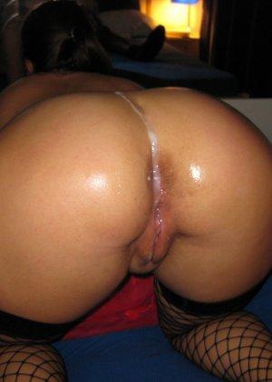 Замужняя девушка Аня любит хороший межрасовый секс - фото 26