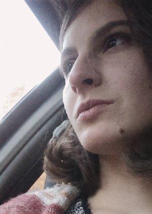 Волосатая хипстерша Яна с дредами не бреет подмышки и киску - фото 43