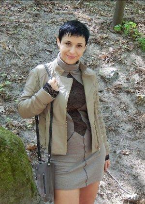 Симпатичная польская зрелая женщина, немножко шлюшка - фото 12