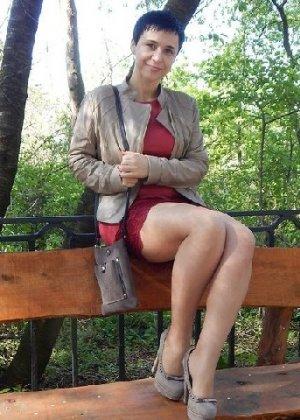 Симпатичная польская зрелая женщина, немножко шлюшка - фото 10