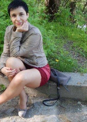 Симпатичная польская зрелая женщина, немножко шлюшка - фото 11
