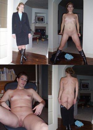 Фото сравнения одетых и раздетых женщин - фото 6- фото 6- фото 6