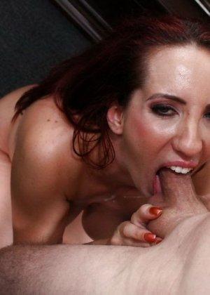 Анальный секс с рыжей Келли Дивайн - фото 5