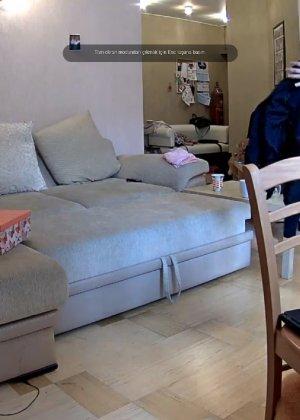 Скрытые камеры зафиксировали секс в неожиданных местах в квартире - фото 26
