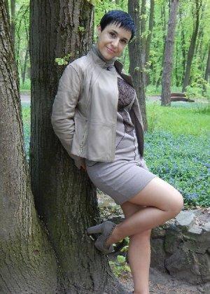 Симпатичная польская зрелая женщина, немножко шлюшка - фото 9