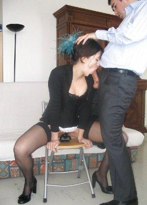 Шлюховатая жена запечатлена во всех местах в доме - фото 1- фото 1- фото 1