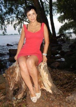 Симпатичная польская зрелая женщина, немножко шлюшка - фото 15