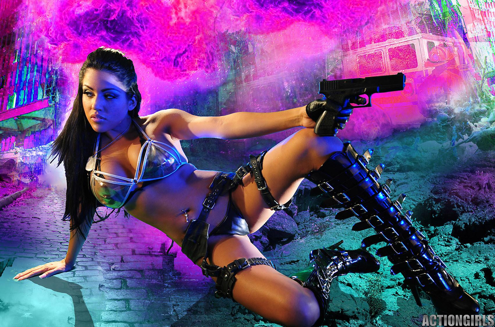 Джессика вооружена и очень опасна
