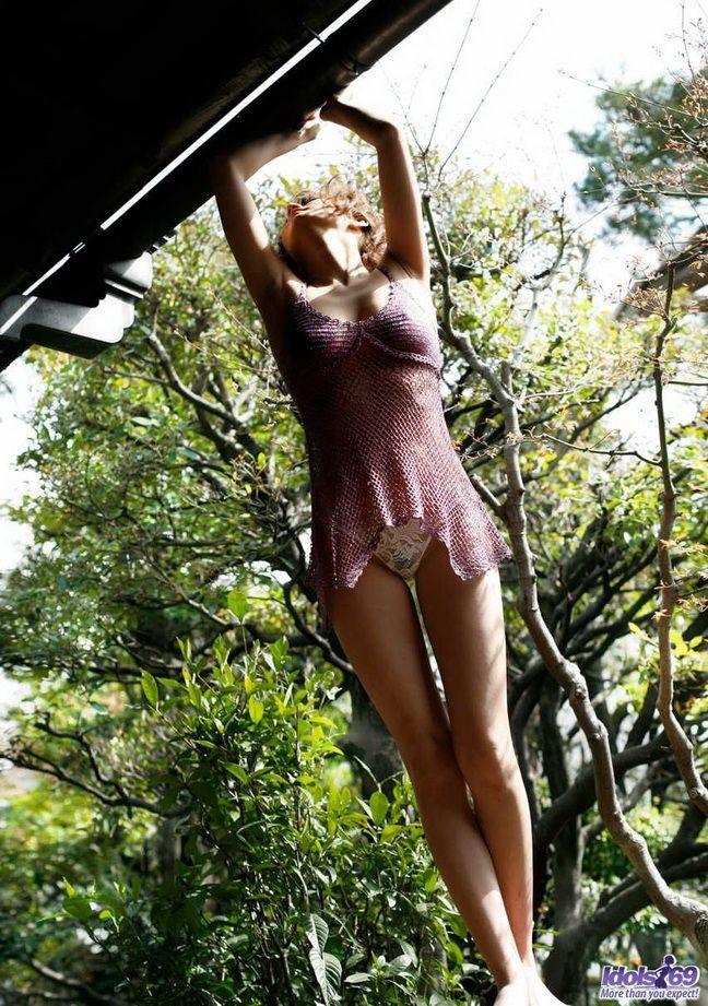 Эротический фотосет с японской моделью Реина Мизуки