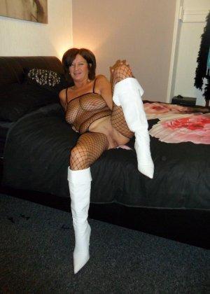 Зрелая женщина обладает достаточным темпераментом и азартом, чтобы удивлять своими образами - фото 15