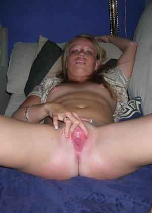 Девушки снимаются в домашнем порно, чтобы оставить на память особо пикантные снимки - фото 19