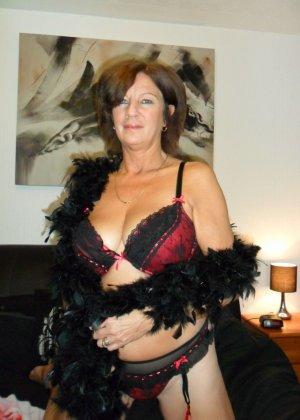Зрелая женщина обладает достаточным темпераментом и азартом, чтобы удивлять своими образами - фото 20