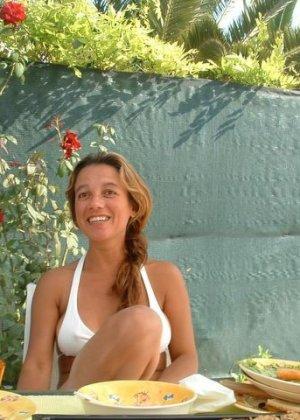 Тереза не прочь эротической фотосъемки, поэтому в её арсенале предостаточно фото - фото 47