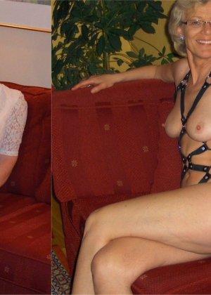 Женщины, которые любят заниматься сексом в разных костюмах, показывают себя в действии - фото 14