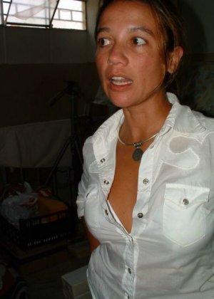 Тереза не прочь эротической фотосъемки, поэтому в её арсенале предостаточно фото - фото 64