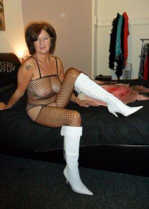 Зрелая женщина обладает достаточным темпераментом и азартом, чтобы удивлять своими образами - фото 13