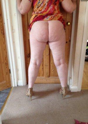 Жирная зрелая женщина показывает свое пышное тело всем желающим – кому-то может понравиться и такое - фото 9