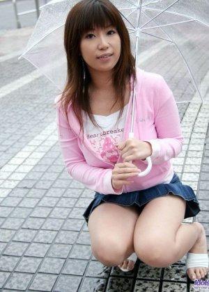 Сисястая азиатка возбуждает своим легким фотосетом - фото 7