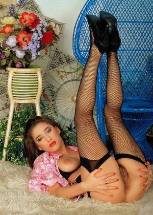 Эротический фотосет сладкой зрелой женщины - фото 5