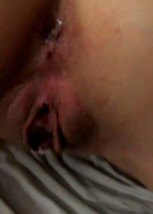 Любительские фото с Обри, которую трахает ее дружок после куни, а в конце ставит раком, чтобы быстрее кончить - фото 7