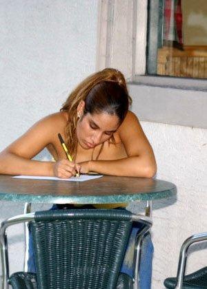 Мексиканская официантка сразу согласилась трахнуться за деньги - фото 5