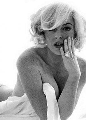 Сексуальная Линдси Лохан - фото 7