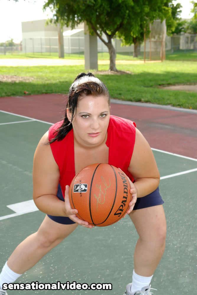 Секс с толстой баскетболисткой