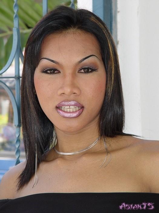 Фото члена азиатского транссексуала Викки