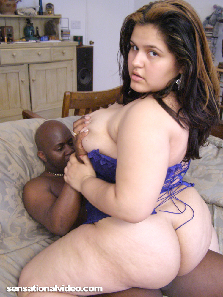 Секс негра и толстой красотки