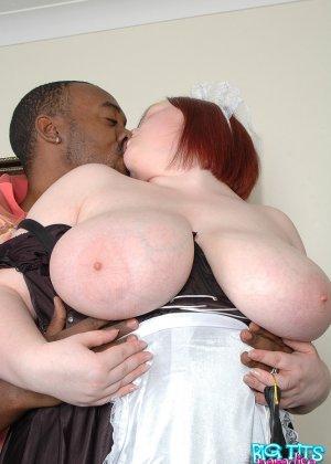 Секс с толстой горничной - фото 5