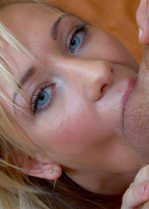 Глубокий анал с красивой русской блондинкой - фото 14