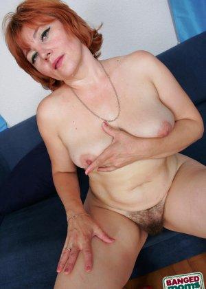 Пожилая захотела группового секса - фото 16