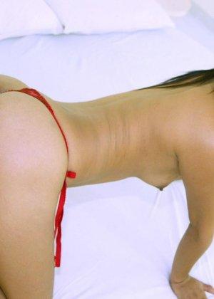 Голая худая азиатка - фото 10