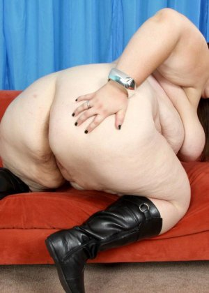 Секс с очень толстой женщиной - фото 4