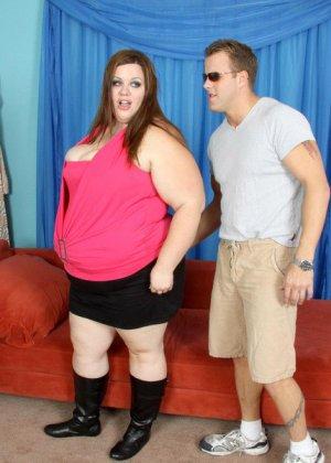 Секс с очень толстой женщиной - фото 6