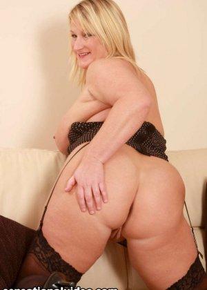 Толстая блондинка Либби любит заниматься сексом - фото 7
